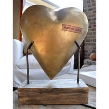 Load image into Gallery viewer, Heart Sculpture on Base