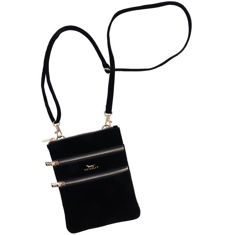 Sally Go Lightly Scout Bag - Black Velvet