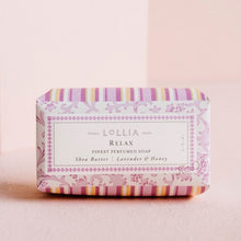 Load image into Gallery viewer, Relax Bar Soap by Lollia