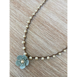 Buttercup Flower Necklace  (2 Colors)