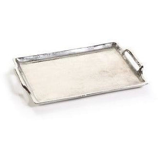 Silver Tray with Handles