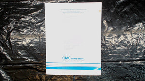 OMC STERN DRIVE SERVICE MANUAL SUPPLEMENT
