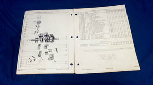 MERCURY 450/45HP 500/50HP 38883 PARTS CATALOG REVISED JANUARY 1965