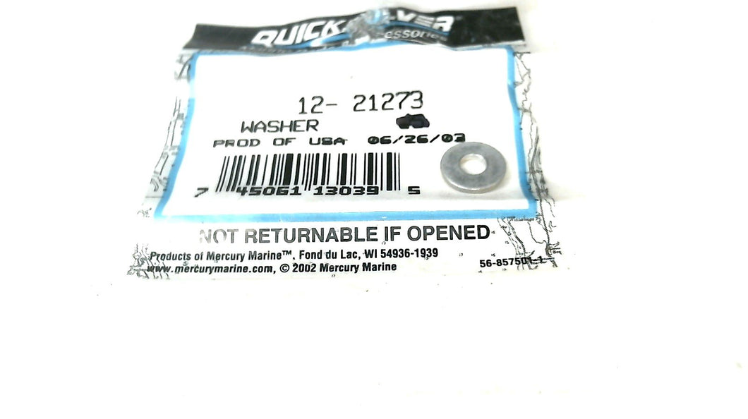 Mercury 12-21273 Washer