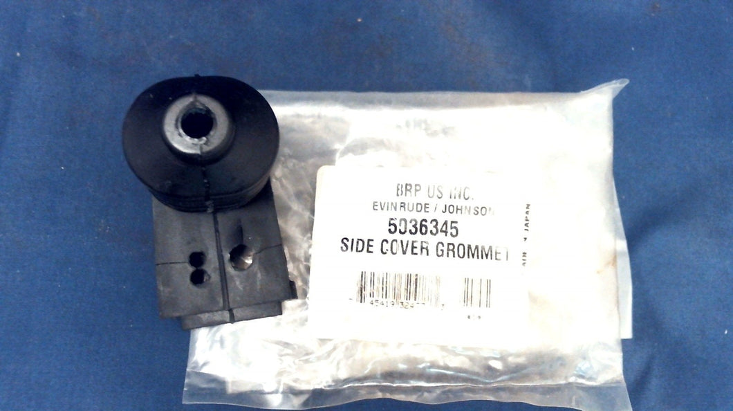 NOS JOHNSON EVINRUDE OMC 5036345 SIDE COVER GROMMET