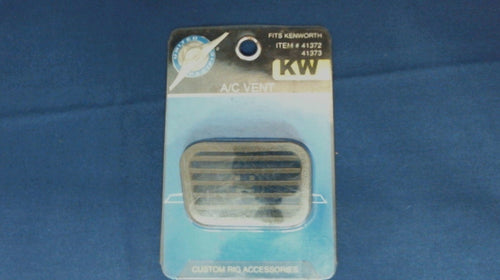 NOS UNITED PACIFIC 41372 PLASTIC CHROME A/C VENT - KENWORTH (SH)