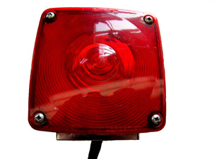 Signal-Stat 4852 Dual Emergency Light - Red and Amber (SH)
