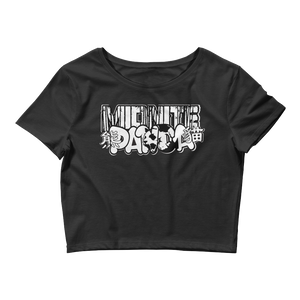 Midnite Panda Crop Top