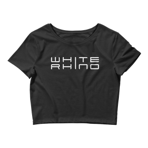 White Rhino Crop Top