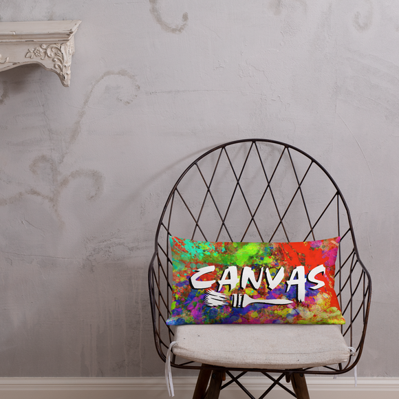 Canvas Premium Pillow