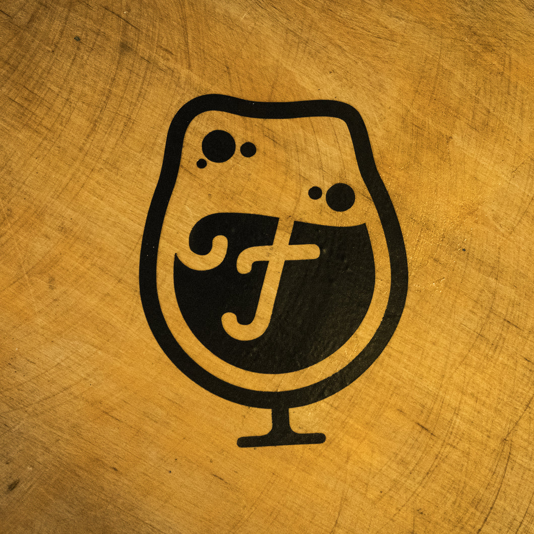 Foam Brewers Glass Logo Stickers