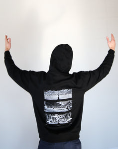 Artist Series Hoodie, Desolation Angels by Andrew John Mullen