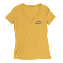 Women's Foam Brewers Script V-Neck