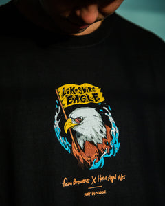Artist Series T-shirt, Lakeshore Eagle by Vader