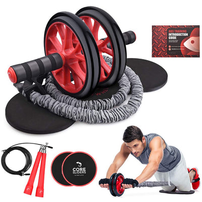 Ab Wheel, 4-in-1 Kit