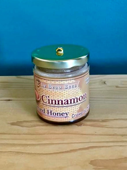 Creamed Honey with Cinnamon