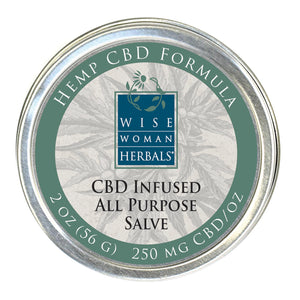 CBD Infused All Purpose Salve **NEW**