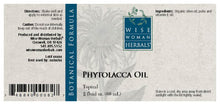 Load image into Gallery viewer, Phytolacca Oil (poke)