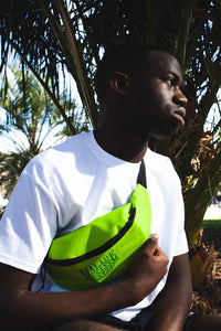 Worldwide green bum bag