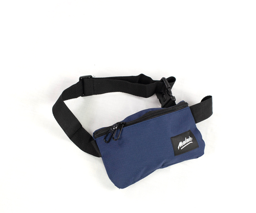 Navy compact bum bag