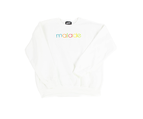 Cooler coleur white sweatshirt