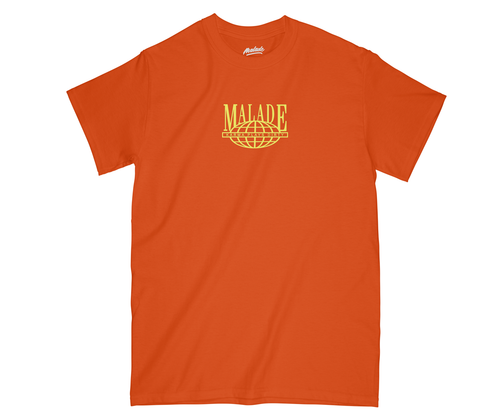 worldwide orange T-shirt