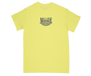 worldwide yellow T-shirt