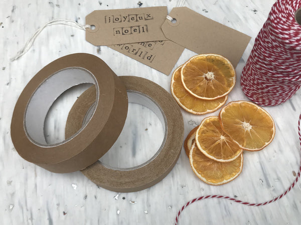 Biodegradable Recycled Paper Tape