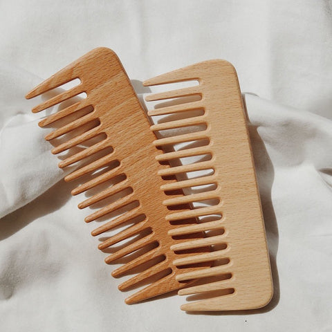 Beech Wood Styling Comb