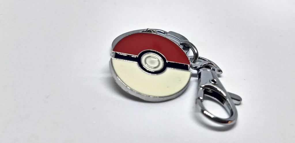 Pokeball Metal Keychain