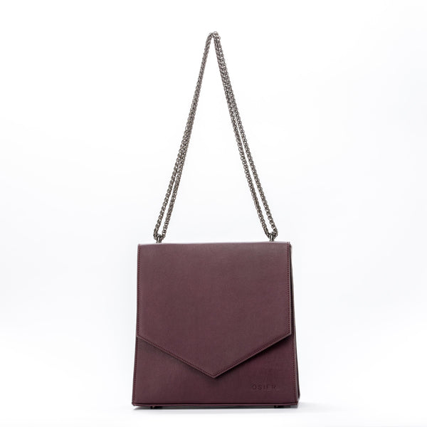 Vegan bags Vegan handbags Vegan luxury Sustainable handbags/ fashion Cruelty-free handbags Handmade bags Peta certified vegan OSIER Jordaan messenger bag