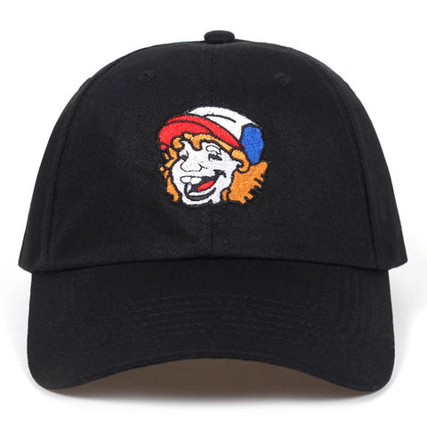 Шапка Stranger Things Dustin Basic Cap бейсболка basic-cap.myshopify.com Основная кепка
