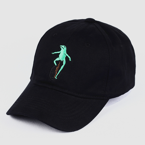 Casquette Grenouille Monocycle Dad Hat
