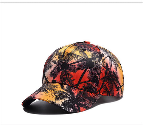 Casquette Sunset Rouge Dad Hat