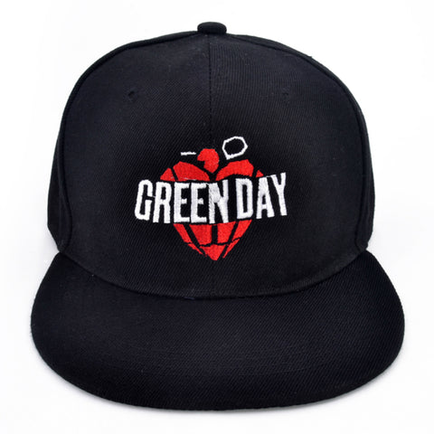 Casquette GREEN DAY Rock Band Hat Cap Snapback