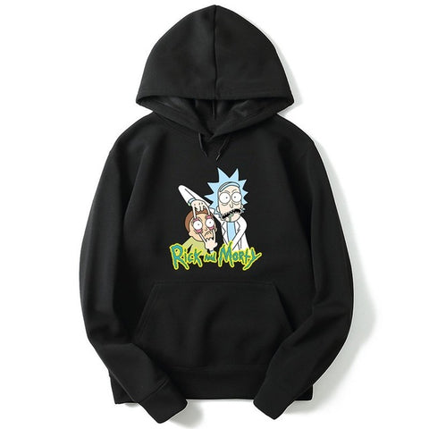 Sweat Rick et Morty hoodies Rick and Morty FREE RICK hoodie men women sweatshirt 1-Black / XXL Basic Cap sweat basic-cap.myshopify.com Basic Cap