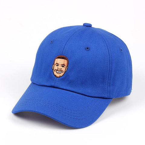 Casquette Stephen Curry Baseball Cap Curry Basket Warriors Golden State NBA Hat - Basic Cap