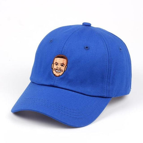 Casquette Stephen Curry Baseball Cap Curry Basket Warriors Golden State NBA Hat Bleu Basic Cap casquette baseball basic-cap.myshopify.com Basic Cap