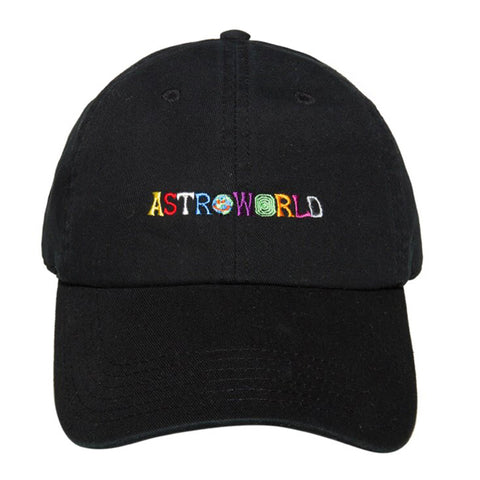 Casquette ASTROWORLD TRAVIS SCOTT Latest Album LOGO HAT Baseball Cap NEW  Basic Cap casquette baseball basic-cap.myshopify.com Basic Cap