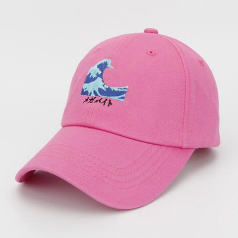 Casquette The Wave Rose Basic Cap casquette baseball basic-cap.myshopify.com Basic Cap
