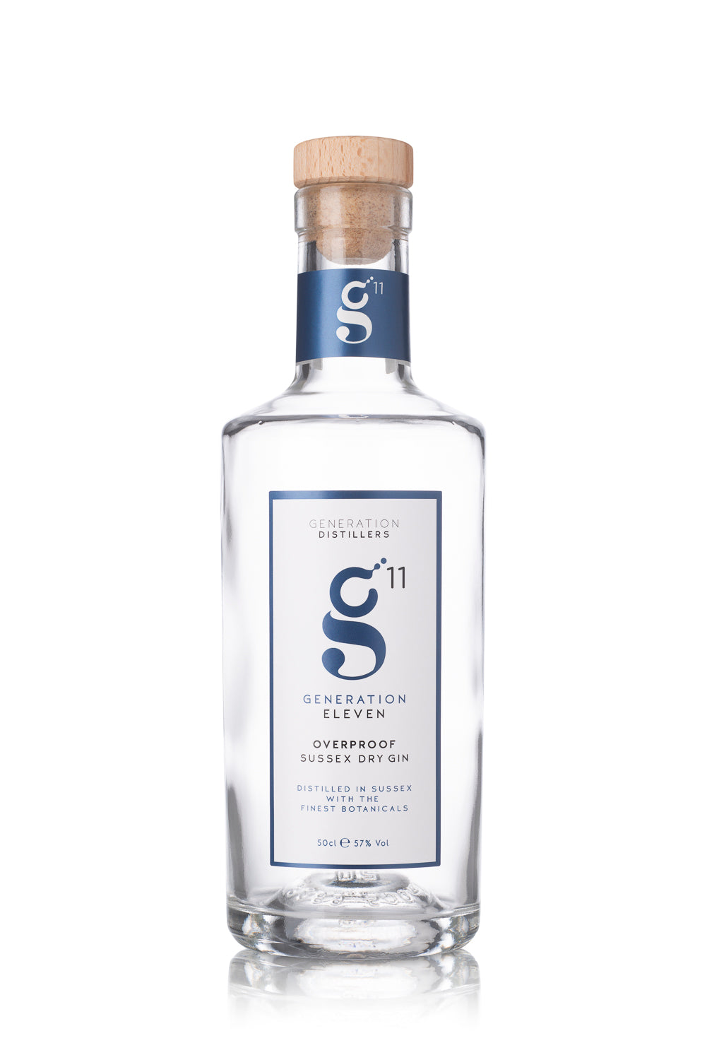 Generation 11 Overproof Sussex Dry Gin 50cl