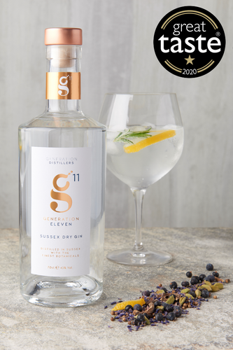 Generation 11 Sussex Dry Gin 70cl