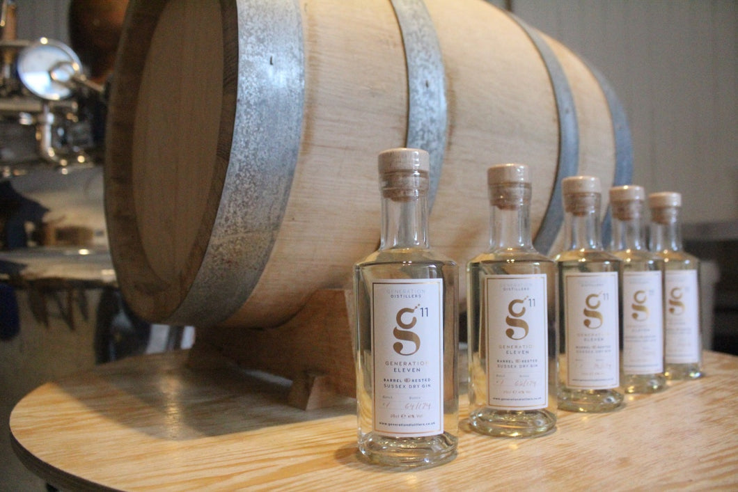 Generation 11 Barrel Rested Gin 20cl