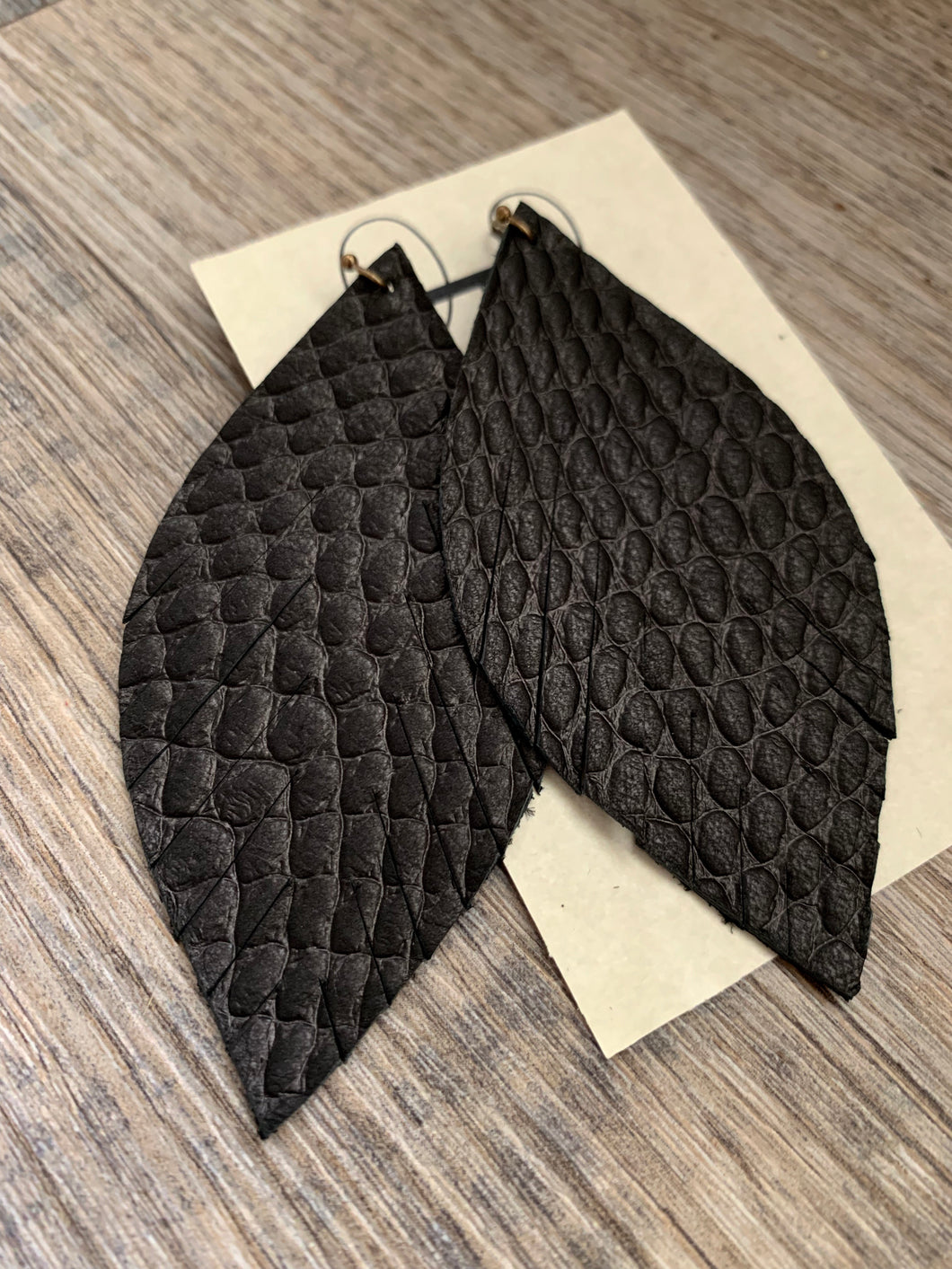 Black Snakeskin Feathers