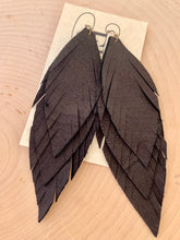 Triple Layered Feathers