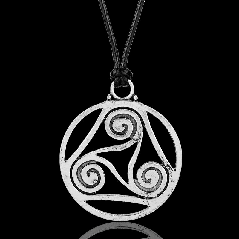 Celtic Triskele Necklace