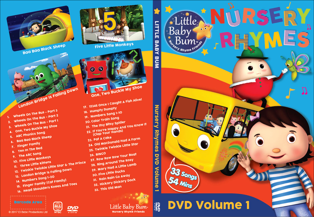 Volume 1 Nursery Rhymes