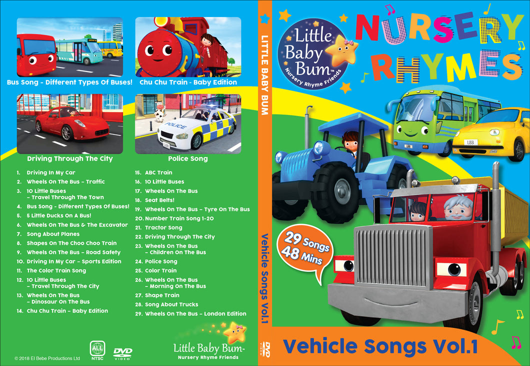 Vehicle Songs Volume 1