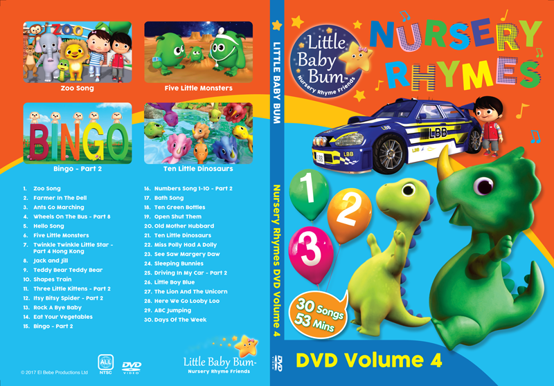 Volume 4 Nursery Rhymes
