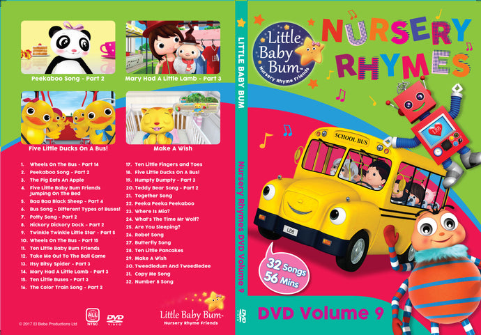 Volume 9 Nursery Rhymes